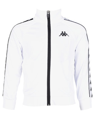 Kappa 222 Banda Anniston Slim Jacket Y White/Black