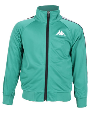 Kappa Youth 222 Banda Anniston Slim Green/Black/White