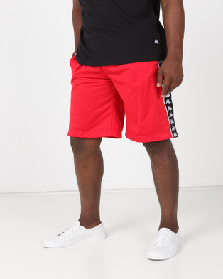 Kappa 222 BandaTreadwell Shorts Red