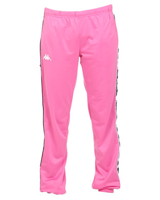 Kappa Ladies 222 Banda Wrastoria SF Pants Fuchsia/Black