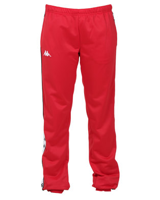 Kappa Ladies 222 Banda Wrastoria SF Pants Red/Black