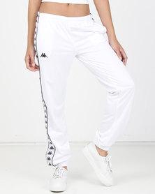 Kappa LDY 222 Banda Wrastoria SF Pants White/Black