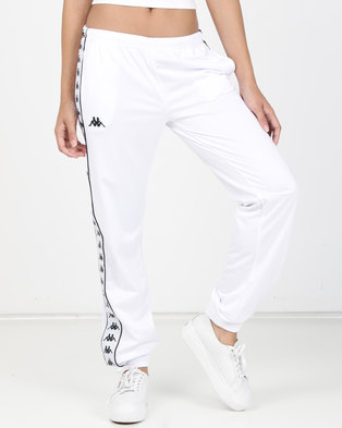 Kappa LDY 222 Banda Wrastoria SF Pants White/Black