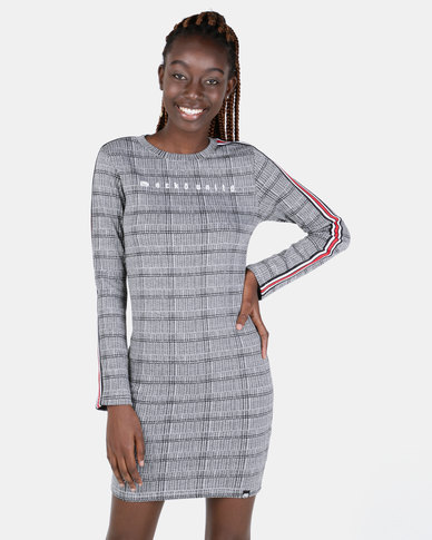 ECKÓ Unltd Check Dress Grey