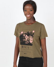 RVCA Autumns Decay Tee Green