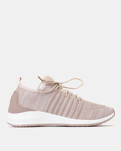 preview of pretty cheap ever popular Pierre Cardin Marled Knit Sneakers Pink