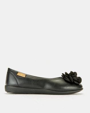 8713709c831a Pierre Cardin Super Comfort Flower Pumps Black