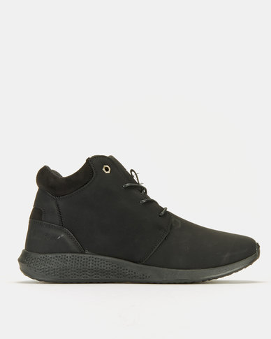 PIERRE CARDIN 00199 Black Mono Sneakers