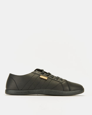 db29358d59a PIERRE CARDIN 00196 Black Mono Sneakers