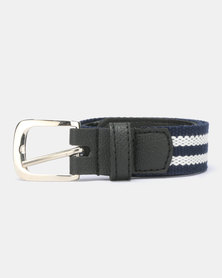 Little Lemon Navy White Belt