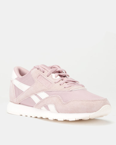 Reebok Classics Leather Sneakers Seasonal Smoky Rose/Pale Pink