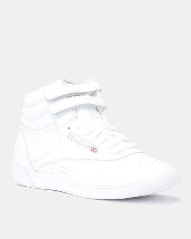 c0855342d Reebok Classics F/S Hi Sneakers Int-White/Silver   Zando