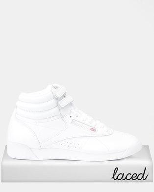 a8529d002c7b Reebok Classics F S Hi Sneakers Int-White Silver