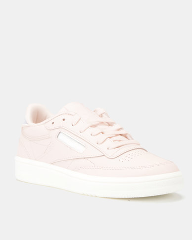 Reebok Club C 85 Mid Sneakers Wow-Pale Pink/White