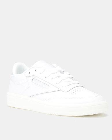 Reebok Club C 85 Mid Sneakers Wow WhiteTrue Grey
