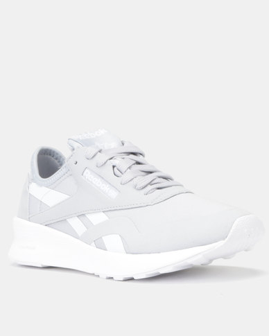 Reebok Classic Nylon Mid Sneakers Clean-Cold Grey/White