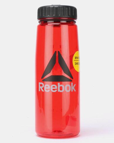 Reebok Performance OS Plastic Water Bottle Red
