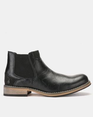 f17add148481 Urbanart Pilar 29 Wax Boots Black