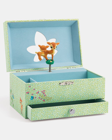 Djeco Wooden Musical Jewellery Box - Fawn's Song