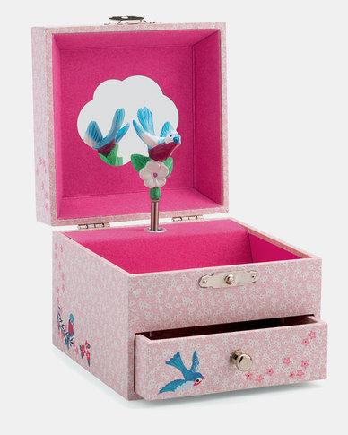 Djeco Wooden Musical Jewellery Box - Finch's Tune