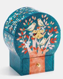 Djeco Wooden Musical Jewellery Box - Poetic Tree
