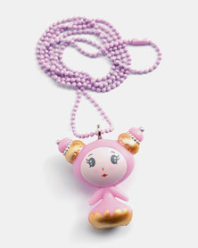 Djeco Jewellery - Lovely Charms Necklace - Sweet Girl