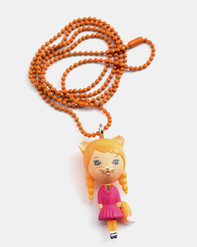 Djeco Jewellery - Lovely Charms Necklace - Cat