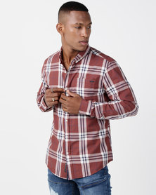 Crosshatch Contie Shirt Red Check