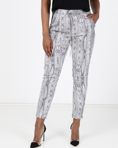 Paige Smith Pull On Pants Snake Print