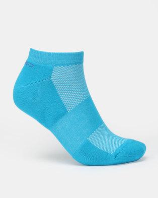 Cameo 2 Pack Print Socks Blue