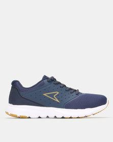 Power Performance L Jogger Shoe Navy/Gold