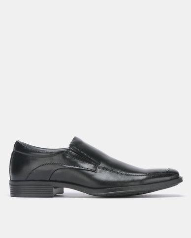 Bata Comfit Formal PU Slip On Black