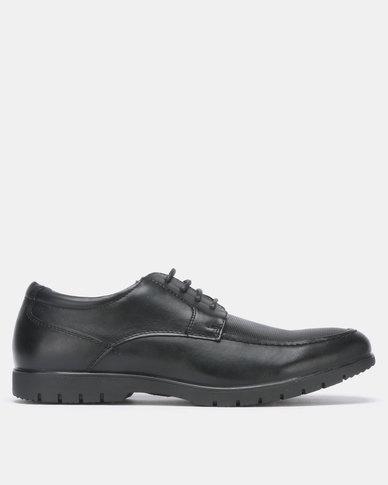 Bata Comfit Formal PU Lace Up Black