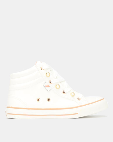 North Star Dainty High Top White