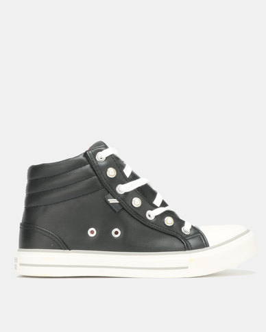North Star Dainty High Top Black