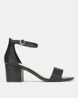 4685fd1da69 Bata Red Label Block Heel Sandal Black