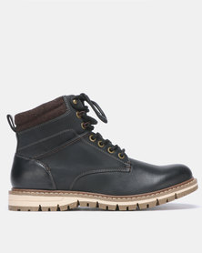 Bata Red Label Worker Boot Black