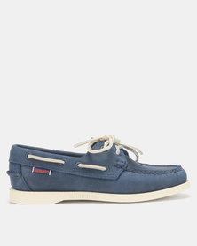 Sebago Dockside Shoes NBK Navy/Blue