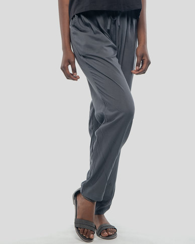 Basic Journey Comfy Trousers - Charcoal
