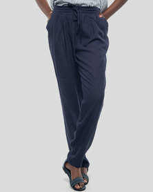 Basic Journey Comfy Trousers - Navy