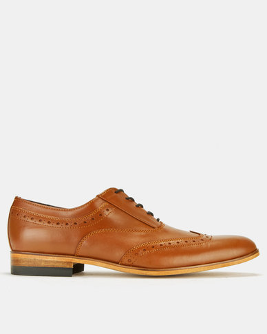 Watson Leo Royal Calf Tan formal lace-ups