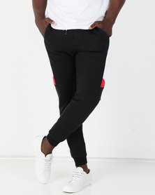 St Goliath Banger Track Pant Black