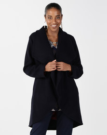 Elm Angus Coat Navy