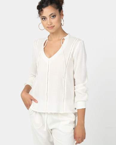 Roxy Times Square Shades Top Marshmallow