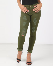 Utopia Fatigue Skinny Leg Jeans