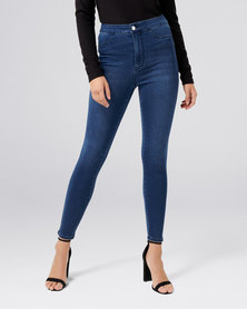 Forever New Madison High Rise Jeggings Cape Town Blue