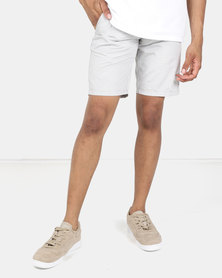 Beaver Canoe Victor Solara Tailored Shorts with Side Piping Detail Grey