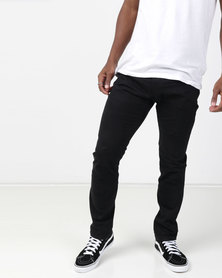 Paul Jones 5 Pocket Chino Trouser Black