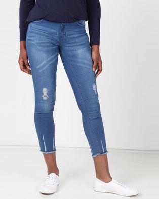 51bdb44e6d20 Legit Push-Up Skinny Jeans Blue