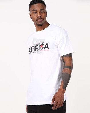 3e244b12495f DC Africa Star T-Shirt White